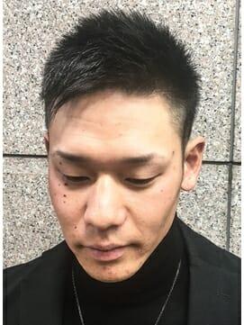 ビジカジ ツーブロック 短髪 モテ髪1