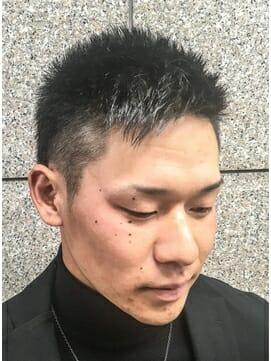 ビジカジ ツーブロック 短髪 モテ髪2